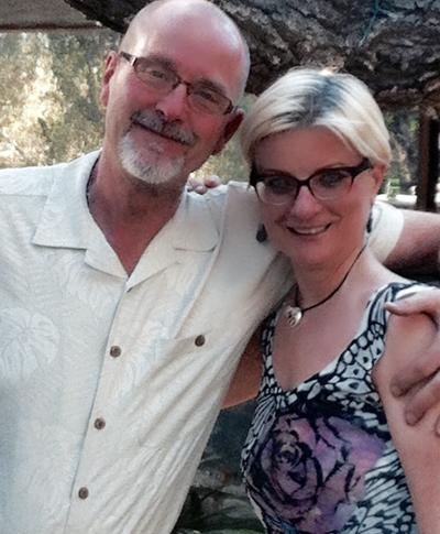 ronda larue spiritual teacher author with husband Matt Clements Registered Investment Manager